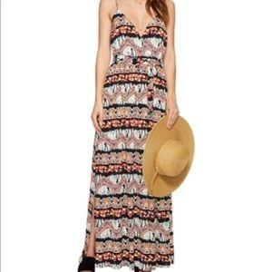 Jack by BB Dakota Agnes Artisan Wave maxi dress